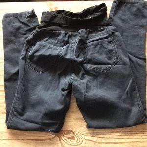 Pants - Skinny Stretch Maternity Jeans. Size S